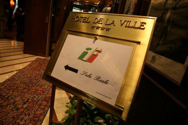 inaugurazione IFI Hotel de La Ville